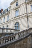 lviv宫殿potocki 巡回表演者 免版税库存照片