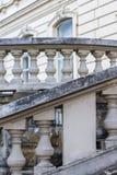 lviv宫殿potocki 巡回表演者 免版税库存图片