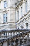 lviv宫殿potocki 巡回表演者 图库摄影