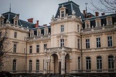 lviv宫殿potocki 免版税库存照片