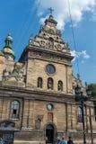 LVIV, ΟΥΚΡΑΝΊΑ - 13 ΣΕΠΤΕΜΒΡΊΟΥ 2016: Παλαιά εκκλησία στην Ουκρανία, πόλη Lviv Στοκ Εικόνες