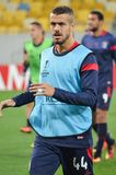 LVIV, ΟΥΚΡΑΝΊΑ - 29 ΣΕΠΤΕΜΒΡΊΟΥ: Artur Jorge στη δράση κατά τη διάρκεια της ΕΕ UEFA Στοκ Εικόνες