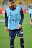 LVIV, ΟΥΚΡΑΝΊΑ - 29 ΣΕΠΤΕΜΒΡΊΟΥ: Artur Jorge στη δράση κατά τη διάρκεια της ΕΕ UEFA Στοκ Φωτογραφία