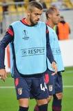 LVIV, ΟΥΚΡΑΝΊΑ - 29 ΣΕΠΤΕΜΒΡΊΟΥ: Artur Jorge στη δράση κατά τη διάρκεια του UEFA Ε Στοκ Εικόνα