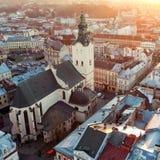 Lviv, Ουκρανία Στοκ Εικόνες