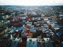 Lviv Royaltyfria Foton