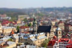 lviv 免版税库存图片