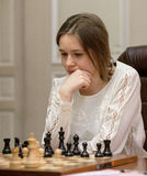 Πρωτάθλημα 2016 Lviv παγκόσμιου σκακιού γυναικών Στοκ Εικόνες