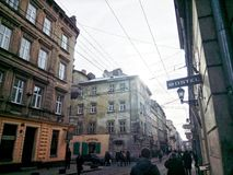 Lviv Royalty-vrije Stock Afbeeldingen