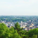 Lviv Aerial View Royalty Free Stock Photography