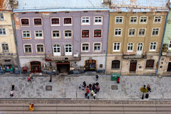 Lviv at autumn, Ukraine Royalty Free Stock Photos