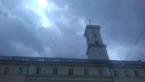 Lviv& x27; ayuntamiento de s fotografía de archivo