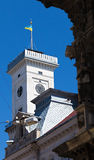 Lviv City Hall Stock Photography