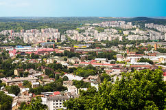 Lviv city Royalty Free Stock Photography