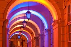 Lviv. City night landscape. Ukraine Royalty Free Stock Photography