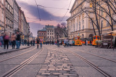 Lviv Royalty Free Stock Photo