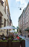 Lviv City scene (Ukraine). MAY 10, 2012 Stock Photography