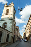 Lviv City scene (Ukraine). MAY 10, 2012 Stock Images