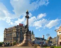 Lviv City scene (Ukraine). MAY 10, 2012 Royalty Free Stock Photography