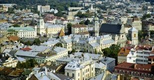 Lviv Cityscape Royalty Free Stock Photos