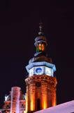 Lviv clock tower Royalty Free Stock Photo