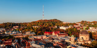 Lviv. The cultural capital of Ukraine Stock Images