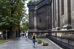 Lviv, de Oekraïne Royalty-vrije Stock Foto