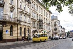 Lviv, de Oekraïne Stock Afbeelding
