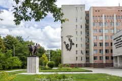 Lviv, de Oekraïne Royalty-vrije Stock Afbeelding