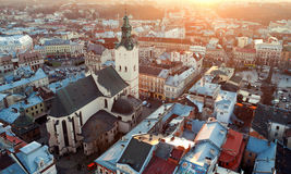 Lviv, de Oekraïne Stock Foto