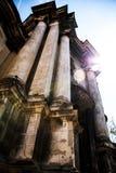 LVIV, de OEKRAÏNE - de Dominicaanse kerk en het klooster in Lviv Royalty-vrije Stock Afbeeldingen