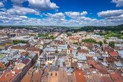 Lviv en Ukraine image stock