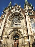 Lviv gothic katedra zdjęcie royalty free