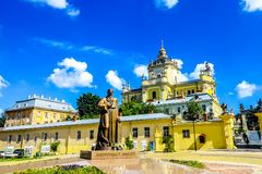 Lviv Heilige George Cathedral 01 stock foto's