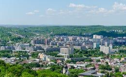 Lviv. High castle 2014 year Royalty Free Stock Photos