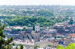 Lviv. High castle 2014 year Royalty Free Stock Images