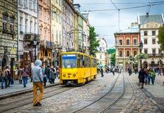 Lviv - the historic center of Ukraine Stock Photos