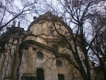 Lviv kościół Zdjęcie Royalty Free