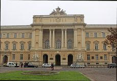 Lviv Krajowy uniwersytet wymieniający po Ivan Franko zdjęcie stock