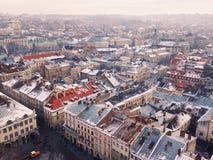 Lviv landscape Stock Image
