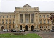 Lviv Nationale die Universiteit na Ivan Franko wordt genoemd stock foto