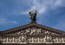 Lviv nationell akademisk opera och balettTheatre Royaltyfria Foton