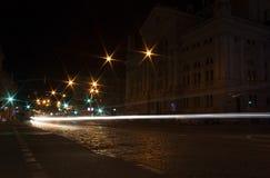 Lviv at night Royalty Free Stock Photos
