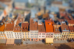 Lviv old city in Ukraine Stock Photo