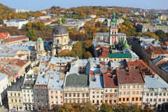 Lviv old town, Ukraine Royalty Free Stock Images
