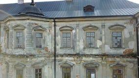 κάστρο lviv κοντά στο παλαιό pidhirtsi Ουκρανία Ουκρανία Αρχιτεκτονικά στοιχεία ενός αρχαίου κάστρου απόθεμα βίντεο