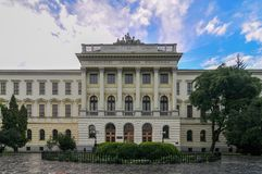 Lviv Polytechnic National University Royalty Free Stock Image