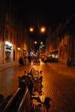 Lviv por la tarde Imagen de archivo libre de regalías