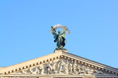 Lviv's opera Stock Photo