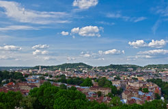 Lviv's view from high point Stock Images